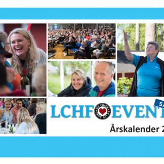 Försättsbladet till LCHF-events årskalender 2019